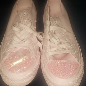 New Converse CTAS OX pink foam pink size 7